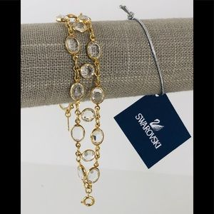 Swarovski Double Layer Crystal Bracelet